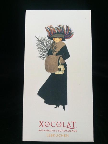 XOCOLAT Weihnachts - Schokolade Vollmilch