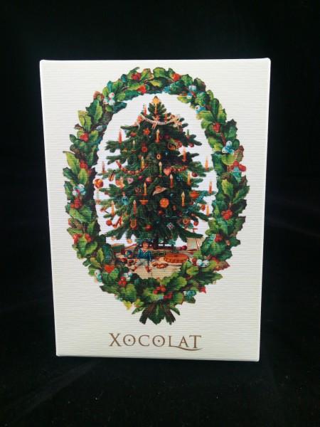 XOCOLAT Weihnachtsschokolade Vanille