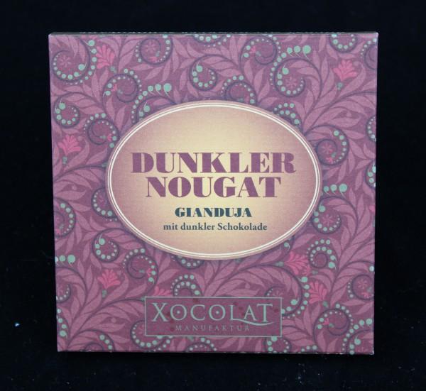 Dunkler Nougat