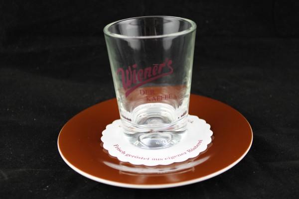 Mocca / Wasserglas