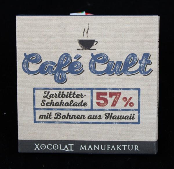 57% - Zartbitter - Schokolade mit Hawaii - Bohnen